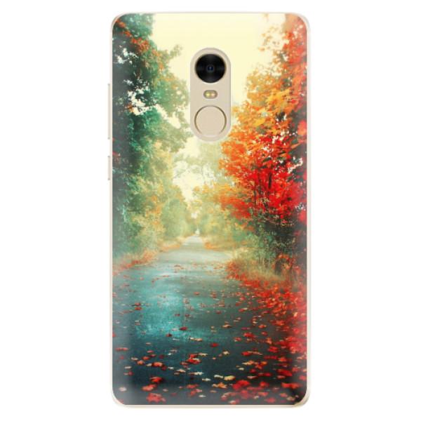 Odolné silikonové pouzdro iSaprio - Autumn 03 - Xiaomi Redmi Note 4