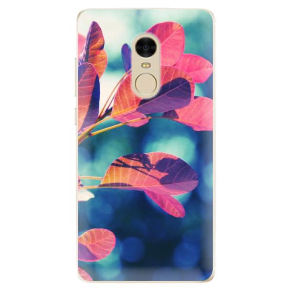Odolné silikonové pouzdro iSaprio - Autumn 01 - Xiaomi Redmi Note 4