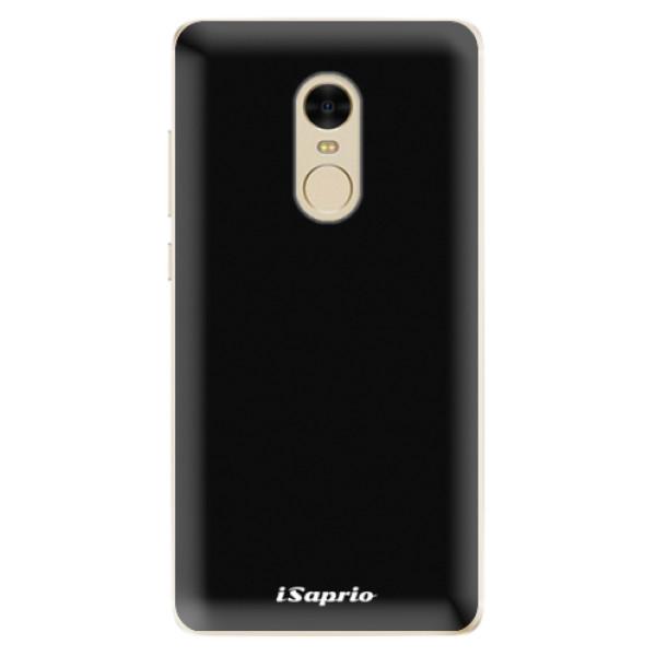 Odolné silikonové pouzdro iSaprio - 4Pure - černý - Xiaomi Redmi Note 4