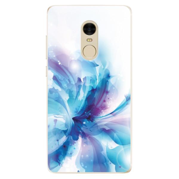 Odolné silikonové pouzdro iSaprio - Abstract Flower - Xiaomi Redmi Note 4