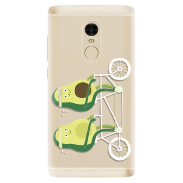 Odolné silikonové pouzdro iSaprio - Avocado - Xiaomi Redmi Note 4