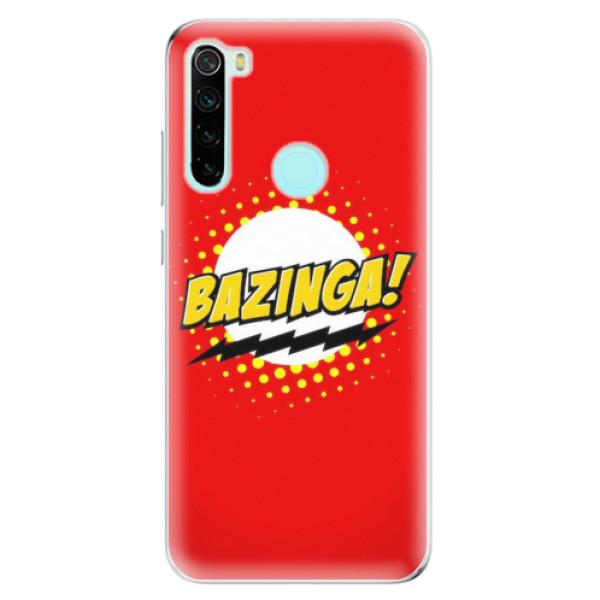 Odolné silikonové pouzdro iSaprio - Bazinga 01 - Xiaomi Redmi Note 8