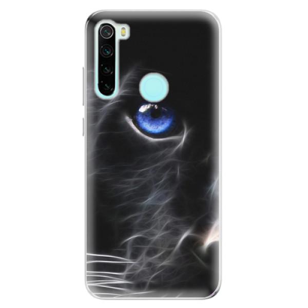 Odolné silikonové pouzdro iSaprio - Black Puma - Xiaomi Redmi Note 8