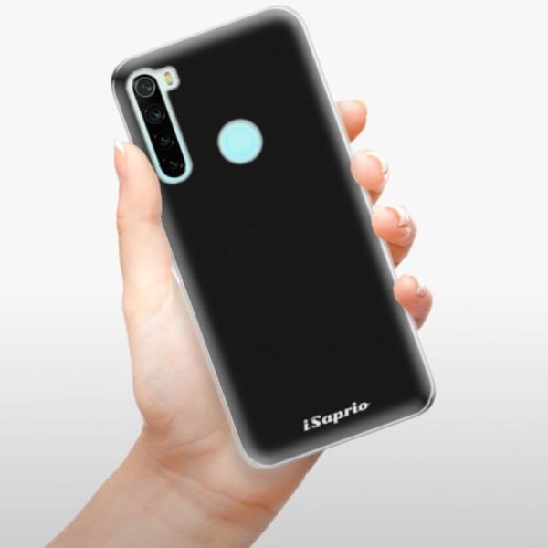 Odolné silikonové pouzdro iSaprio - 4Pure - černý - Xiaomi Redmi Note 8