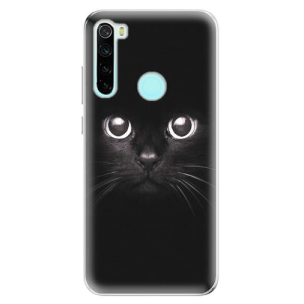 Odolné silikonové pouzdro iSaprio - Black Cat - Xiaomi Redmi Note 8