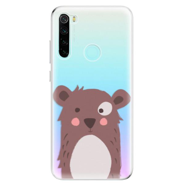 Odolné silikonové pouzdro iSaprio - Brown Bear - Xiaomi Redmi Note 8