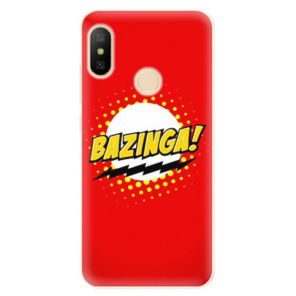 Odolné silikonové pouzdro iSaprio - Bazinga 01 - Xiaomi Mi A2 Lite