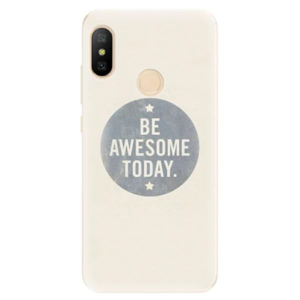 Odolné silikonové pouzdro iSaprio - Awesome 02 - Xiaomi Mi A2 Lite