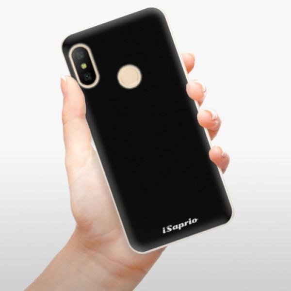Odolné silikonové pouzdro iSaprio - 4Pure - černý - Xiaomi Mi A2 Lite