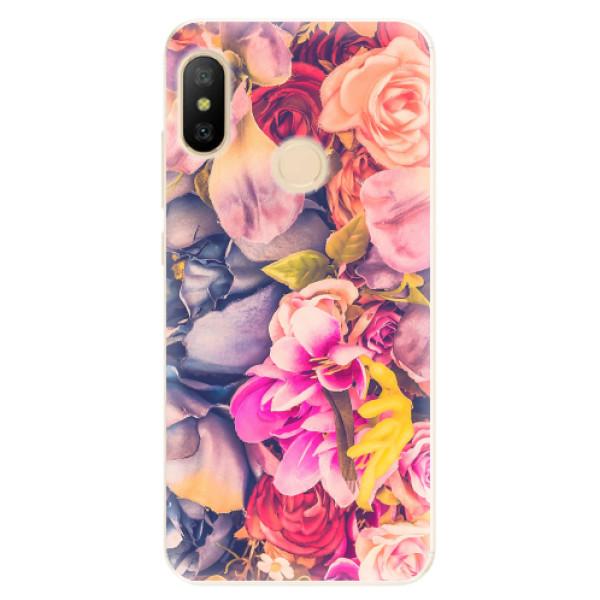 Odolné silikonové pouzdro iSaprio - Beauty Flowers - Xiaomi Mi A2 Lite