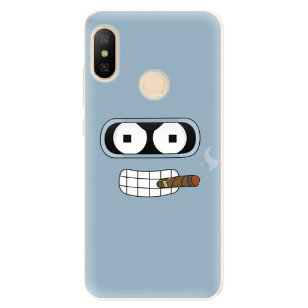 Odolné silikonové pouzdro iSaprio - Bender - Xiaomi Mi A2 Lite