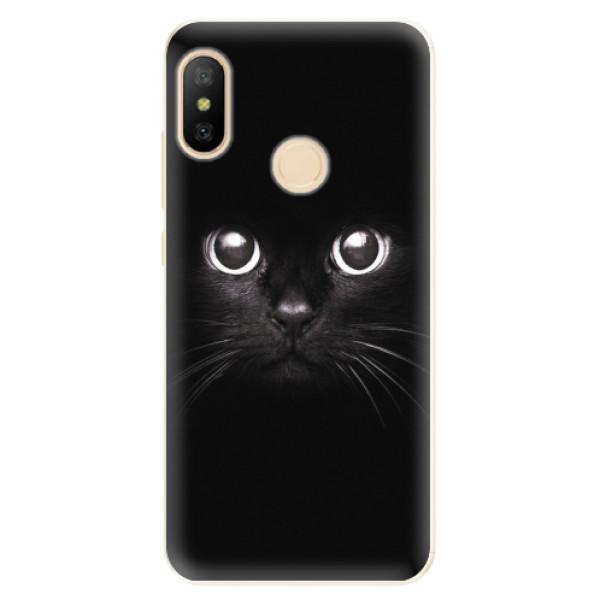 Odolné silikonové pouzdro iSaprio - Black Cat - Xiaomi Mi A2 Lite