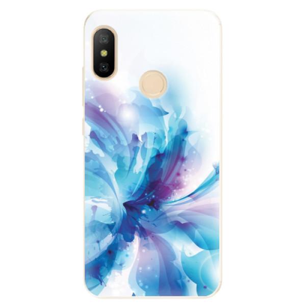 Odolné silikonové pouzdro iSaprio - Abstract Flower - Xiaomi Mi A2 Lite