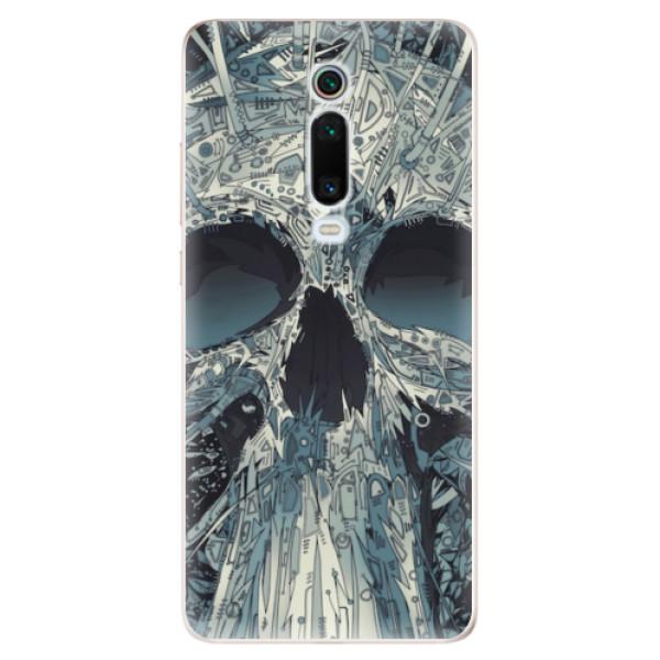 Odolné silikonové pouzdro iSaprio - Abstract Skull - Xiaomi Mi 9T Pro