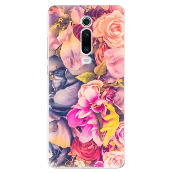 Odolné silikonové pouzdro iSaprio - Beauty Flowers - Xiaomi Mi 9T Pro