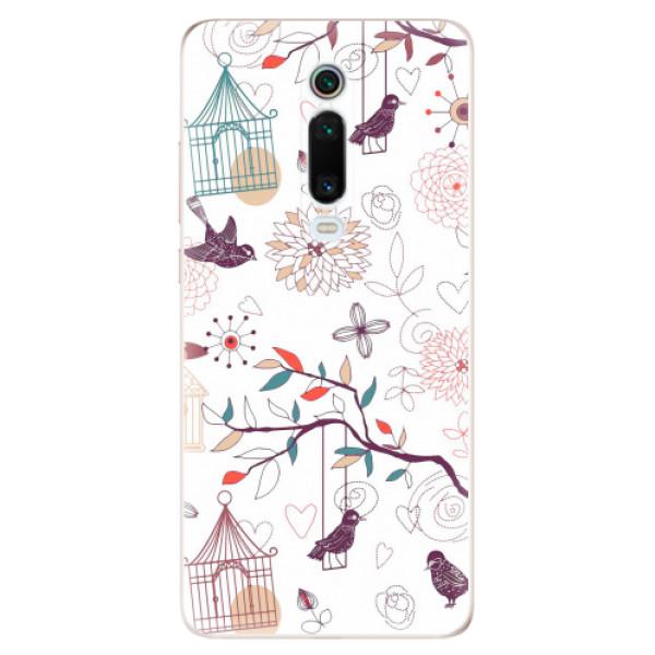 Odolné silikonové pouzdro iSaprio - Birds - Xiaomi Mi 9T Pro