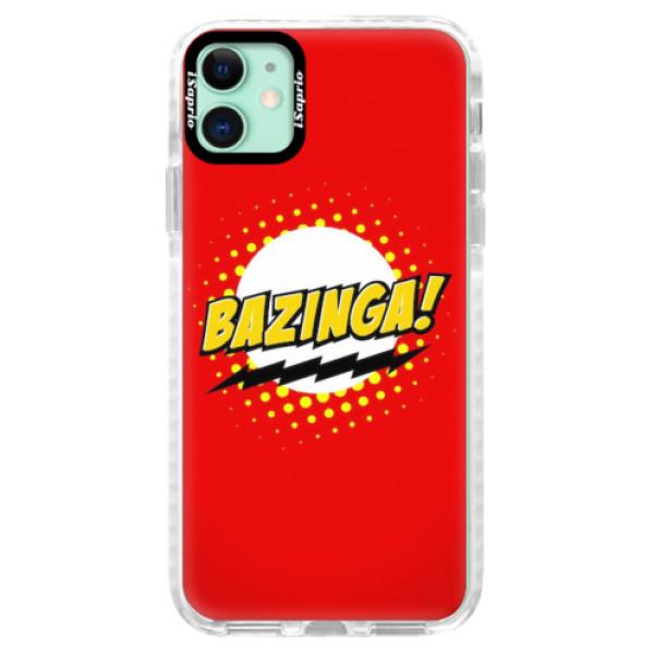 Silikonové pouzdro Bumper iSaprio - Bazinga 01 - iPhone 11
