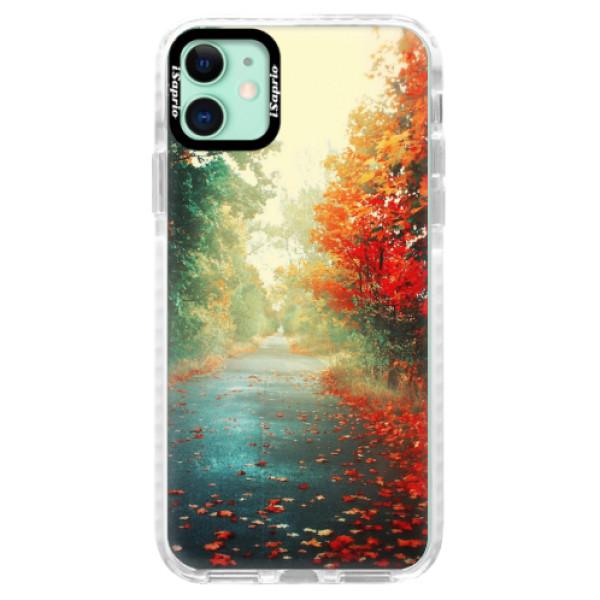 Silikonové pouzdro Bumper iSaprio - Autumn 03 - iPhone 11