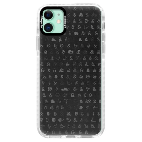 Silikonové pouzdro Bumper iSaprio - Ampersand 01 - iPhone 11