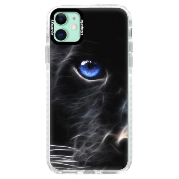 Silikonové pouzdro Bumper iSaprio - Black Puma - iPhone 11