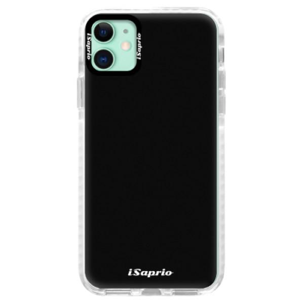 Silikonové pouzdro Bumper iSaprio - 4Pure - černý - iPhone 11