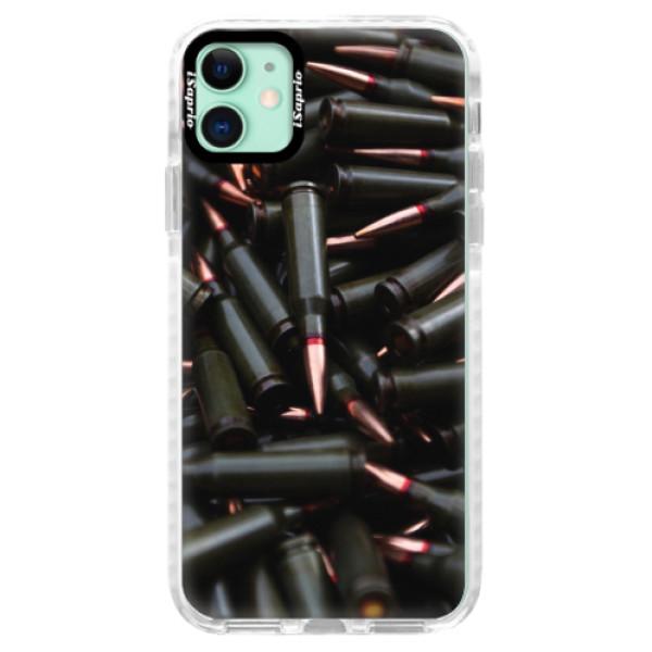Silikonové pouzdro Bumper iSaprio - Black Bullet - iPhone 11