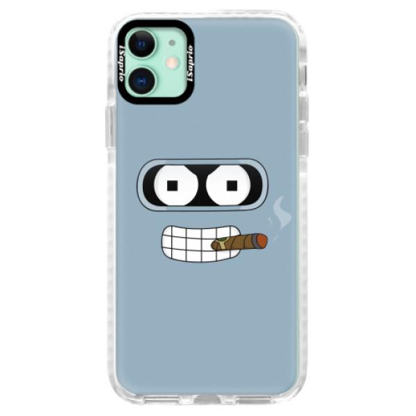 Silikonové pouzdro Bumper iSaprio - Bender - iPhone 11