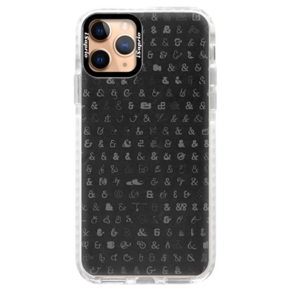 Silikonové pouzdro Bumper iSaprio - Ampersand 01 - iPhone 11 Pro