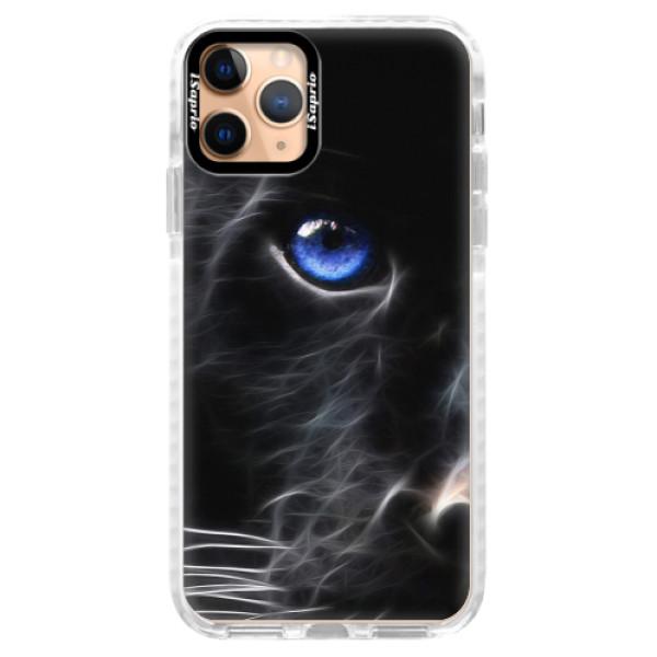 Silikonové pouzdro Bumper iSaprio - Black Puma - iPhone 11 Pro