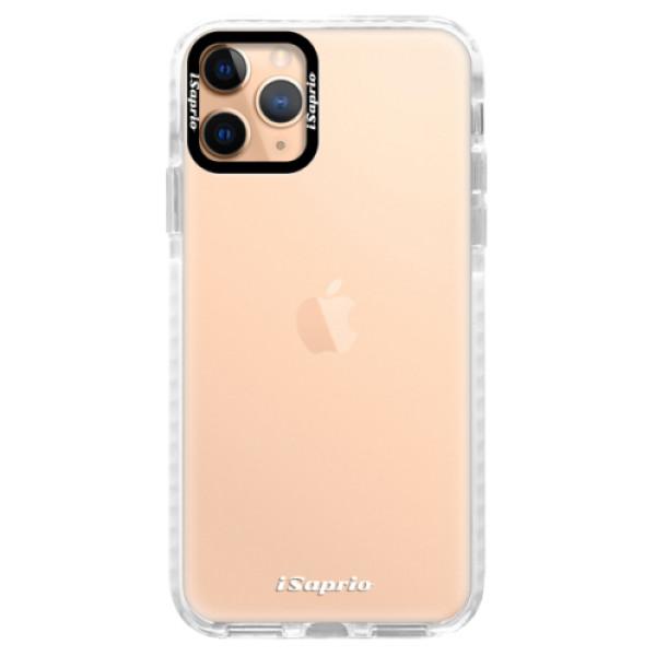 Silikonové pouzdro Bumper iSaprio - 4Pure - mléčný bez potisku - iPhone 11 Pro