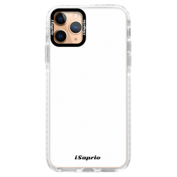 Silikonové pouzdro Bumper iSaprio - 4Pure - bílý - iPhone 11 Pro