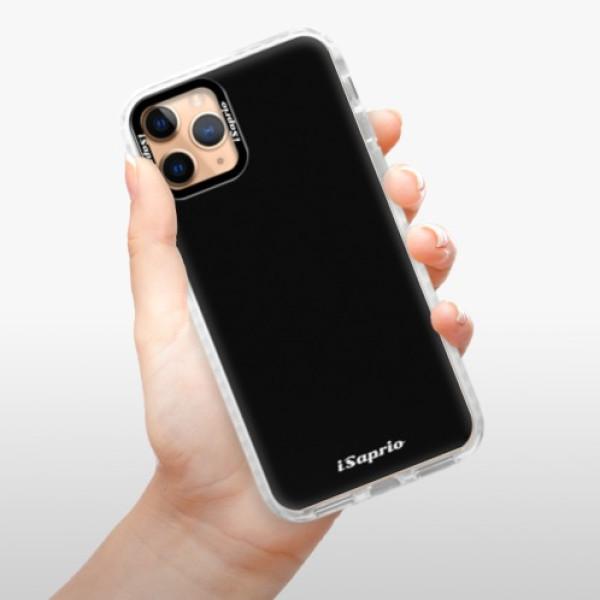 Silikonové pouzdro Bumper iSaprio - 4Pure - černý - iPhone 11 Pro