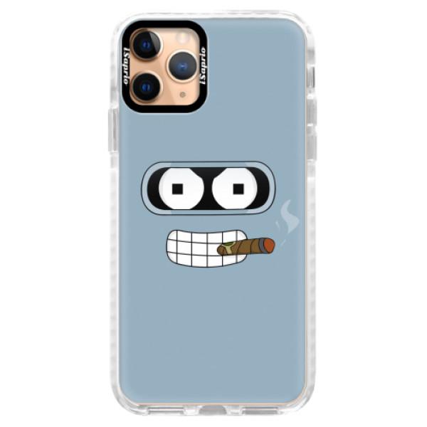 Silikonové pouzdro Bumper iSaprio - Bender - iPhone 11 Pro