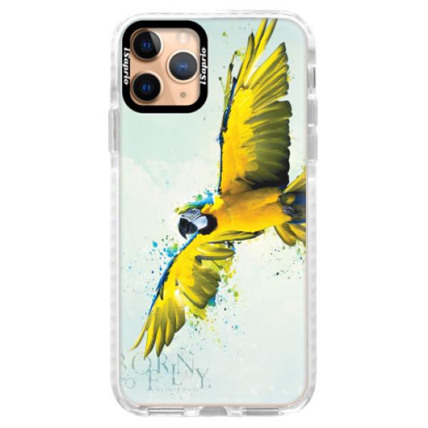 Silikonové pouzdro Bumper iSaprio - Born to Fly - iPhone 11 Pro