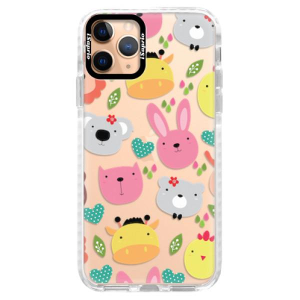 Silikonové pouzdro Bumper iSaprio - Animals 01 - iPhone 11 Pro