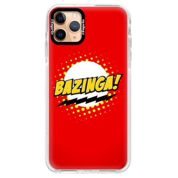 Silikonové pouzdro Bumper iSaprio - Bazinga 01 - iPhone 11 Pro Max