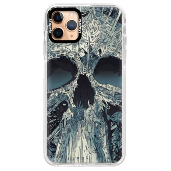 Silikonové pouzdro Bumper iSaprio - Abstract Skull - iPhone 11 Pro Max