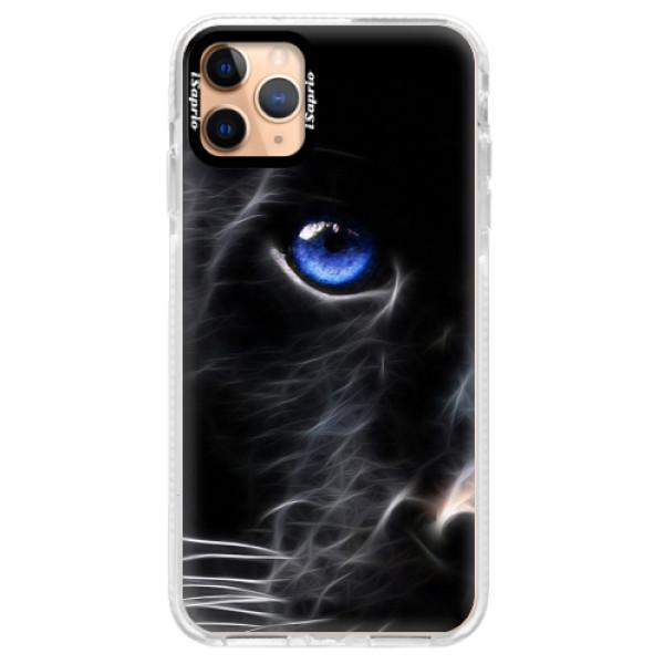 Silikonové pouzdro Bumper iSaprio - Black Puma - iPhone 11 Pro Max