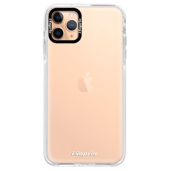 Silikonové pouzdro Bumper iSaprio - 4Pure - mléčný bez potisku - iPhone 11 Pro Max