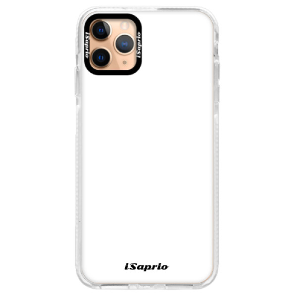 Silikonové pouzdro Bumper iSaprio - 4Pure - bílý - iPhone 11 Pro Max