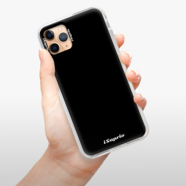 Silikonové pouzdro Bumper iSaprio - 4Pure - černý - iPhone 11 Pro Max
