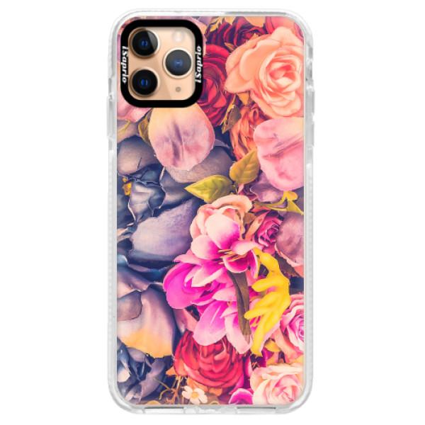 Silikonové pouzdro Bumper iSaprio - Beauty Flowers - iPhone 11 Pro Max