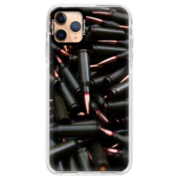 Silikonové pouzdro Bumper iSaprio - Black Bullet - iPhone 11 Pro Max