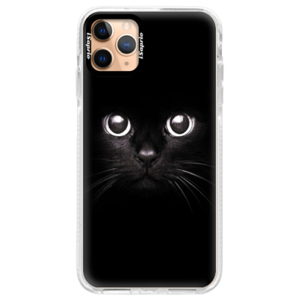 Silikonové pouzdro Bumper iSaprio - Black Cat - iPhone 11 Pro Max