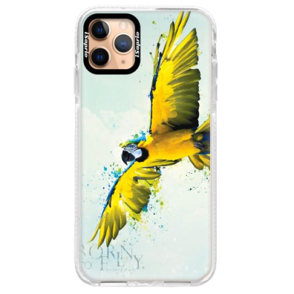 Silikonové pouzdro Bumper iSaprio - Born to Fly - iPhone 11 Pro Max