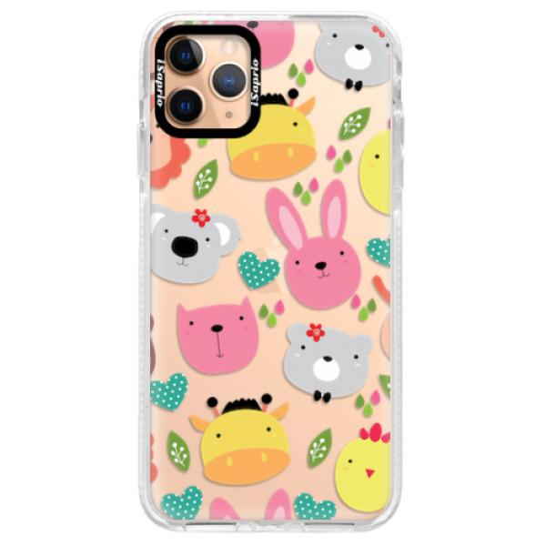 Silikonové pouzdro Bumper iSaprio - Animals 01 - iPhone 11 Pro Max