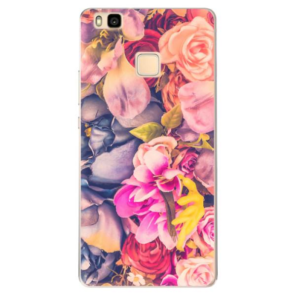 Odolné silikonové pouzdro iSaprio - Beauty Flowers - Huawei Ascend P9 Lite