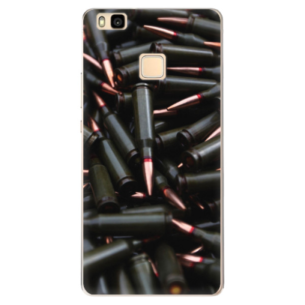 Odolné silikonové pouzdro iSaprio - Black Bullet - Huawei Ascend P9 Lite