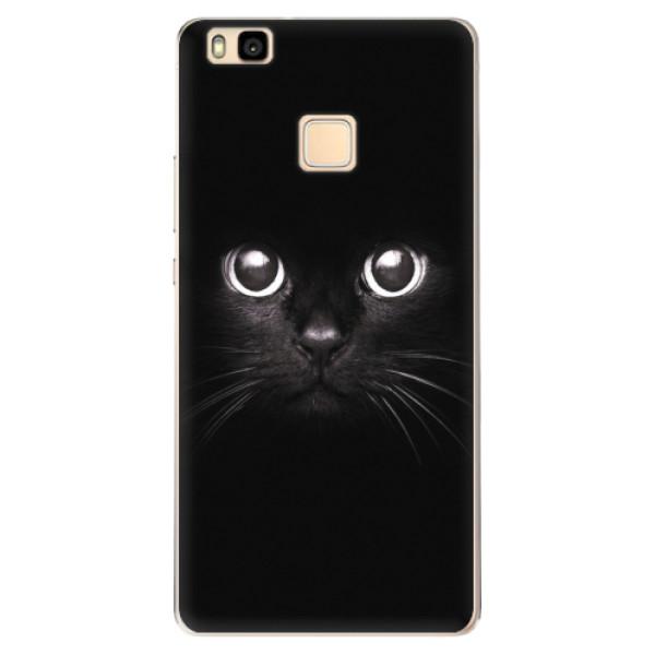 Odolné silikonové pouzdro iSaprio - Black Cat - Huawei Ascend P9 Lite