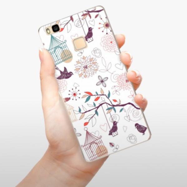 Odolné silikonové pouzdro iSaprio - Birds - Huawei Ascend P9 Lite